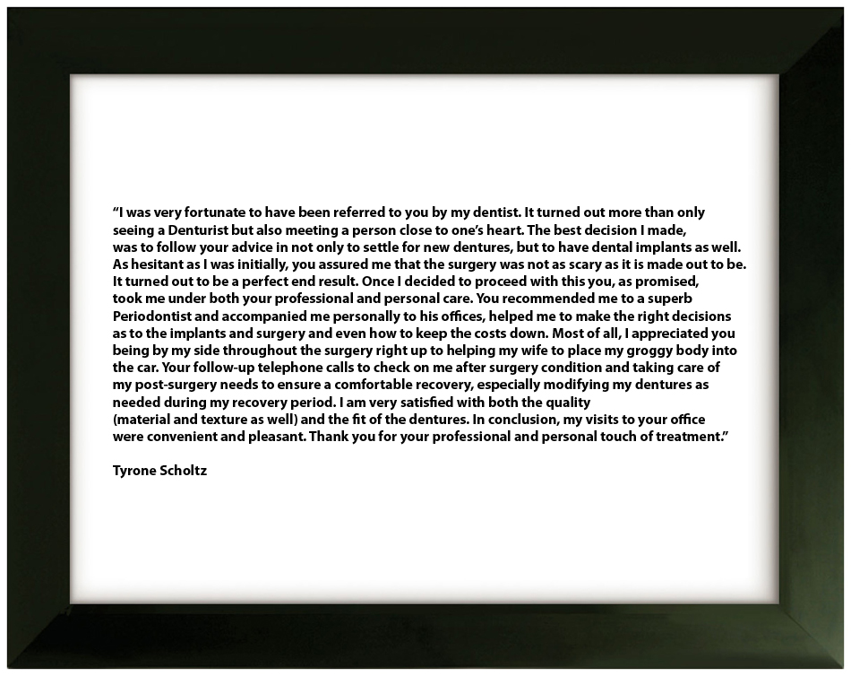 Testimonial 8 - Tyrone Scholtz