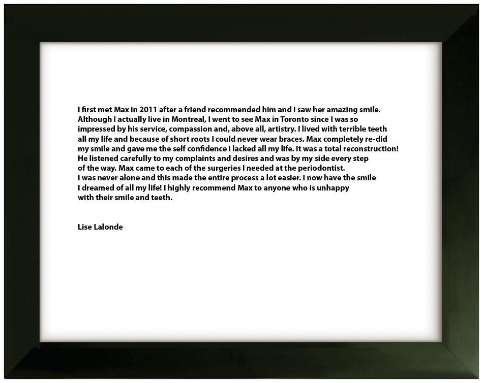 Testimonial 7 - lise-lalonde